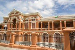 De mooie bouw naast Ministerie van Defensie Stock Foto's