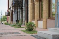 de mooie bouw in Ryazan, Rusland royalty-vrije stock afbeelding