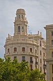 De mooie bouw in Valencia Royalty-vrije Stock Fotografie