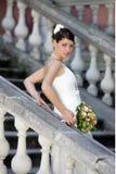 De mooie bruid van de Vrouw stock afbeeldingen