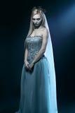 De mooie bruid van het zombielijk Royalty-vrije Stock Foto