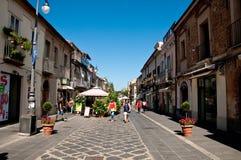 De mooie centrale cursus van vibo Valentia in Calabrië Royalty-vrije Stock Afbeelding