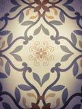 De mooie close-uptexturen vatten de moderne muursteen en achtergrond van de tegelvloer samen stock fotografie
