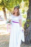De mooie Dag van het Huwelijk Stock Foto