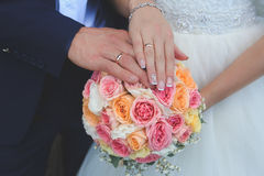 De mooie Dag van het Huwelijk Royalty-vrije Stock Foto's