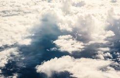 De mooie donkere achtergrond van de hemelaard Royalty-vrije Stock Afbeelding