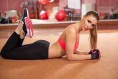 De mooie Fitness levensstijl van Vrouwensporten Stock Afbeelding