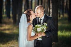 De mooie gang van het de zomerhuwelijk op aard Royalty-vrije Stock Foto