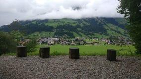 De mooie gezichten van Oostenrijk stock foto's