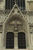 De mooie Gotische kathedraal St. Michael stock afbeeldingen