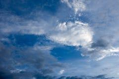 De mooie Hemel met wolk Stock Afbeelding