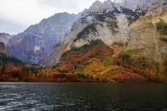 De mooie Herfst bij het Overzees van Koningen royalty-vrije stock afbeeldingen