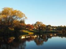De mooie Herfst in Deloraine, Tasmanige, Australië Stock Afbeelding