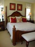 De mooie HoofdVerticaal van de Zaal van het Bed Royalty-vrije Stock Afbeelding