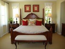 De mooie HoofdZaal van het Bed Royalty-vrije Stock Foto's