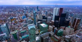 De mooie horizon van Toronto - Toronto, Ontario, Canada stock foto