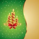 De mooie Illustratie van Kerstmis en van het Nieuwjaar Royalty-vrije Stock Fotografie