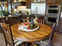 De mooie Italiaanse Keuken van de Stijl Royalty-vrije Stock Foto