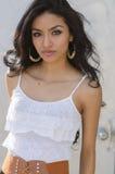 De mooie jonge vrouw van Latina Stock Afbeeldingen