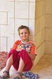 De mooie jongen royalty-vrije stock afbeeldingen