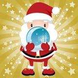 De mooie Kerstman Royalty-vrije Stock Foto's