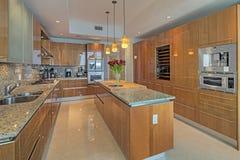 De mooie Keukens zijn een Chef-koksverrukking Royalty-vrije Stock Afbeelding