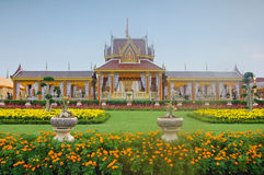 De mooie koninklijke crematieplaats Royalty-vrije Stock Foto's
