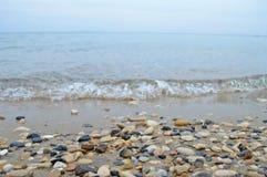 De mooie kust van Korfu Stock Afbeelding
