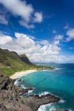 De mooie kustlijn van Hawaï stock fotografie