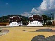De mooie levensstijl Thailand van de de bouwvrijheid Stock Afbeeldingen