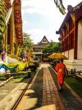 De mooie levensstijl Thailand van tempelrelgion Royalty-vrije Stock Fotografie