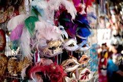 De mooie maskers van Venetië royalty-vrije stock afbeeldingen