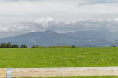 De mooie mening van de landschapsberg van Utsukushigahara-park is  Royalty-vrije Stock Fotografie