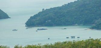 De mooie mening van khao-Khad bekijkt Toren, kunnen de toeristen van Th genieten Royalty-vrije Stock Foto