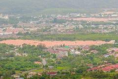 De mooie mening van khao-Khad bekijkt Toren, kunnen de toeristen van Th genieten Stock Fotografie