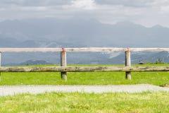 De mooie mening van de landschapsberg van Utsukushigahara-park is  Stock Foto