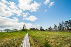 De mooie mening van de landschapsberg van Utsukushigahara-park is  Royalty-vrije Stock Afbeeldingen