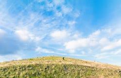 De mooie mening van de landschapsberg van Utsukushigahara-park met Royalty-vrije Stock Foto's