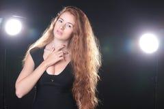 De mooie Modellering van de Vrouw royalty-vrije stock fotografie