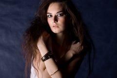 De mooie mystieke vrouwen Royalty-vrije Stock Foto