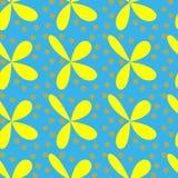 De mooie naadloze bloemen herhalen patroonontwerp Royalty-vrije Stock Afbeelding