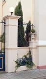 De mooie Poort van het Ijzer Royalty-vrije Stock Afbeelding