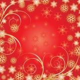 De mooie Rode achtergrond van Kerstmis Royalty-vrije Stock Foto