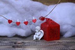 De mooie samenstelling van de valentijnskaartvakantie Royalty-vrije Stock Afbeeldingen