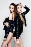 De mooie sexy vrouwen van het slepen Royalty-vrije Stock Foto's