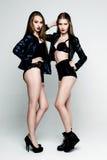 De mooie sexy vrouwen van het slepen Royalty-vrije Stock Foto
