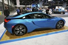 De mooie Sportwagen van BMW I8 Royalty-vrije Stock Foto