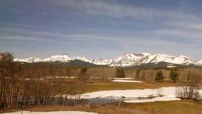 De mooie staat van Oregon Washington Montana stock afbeelding