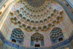 De mooie stad van Oezbekistan van de architecturale monumenten van Samarkand en van Boukhara royalty-vrije stock foto's