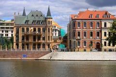 De mooie Stad van Wroclaw, Polen royalty-vrije stock fotografie